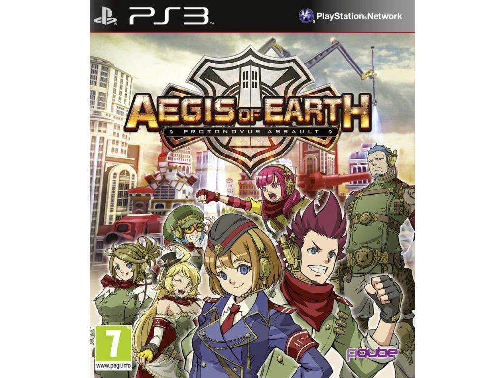 PS3 Aegis of Earth Protonovus Assault
