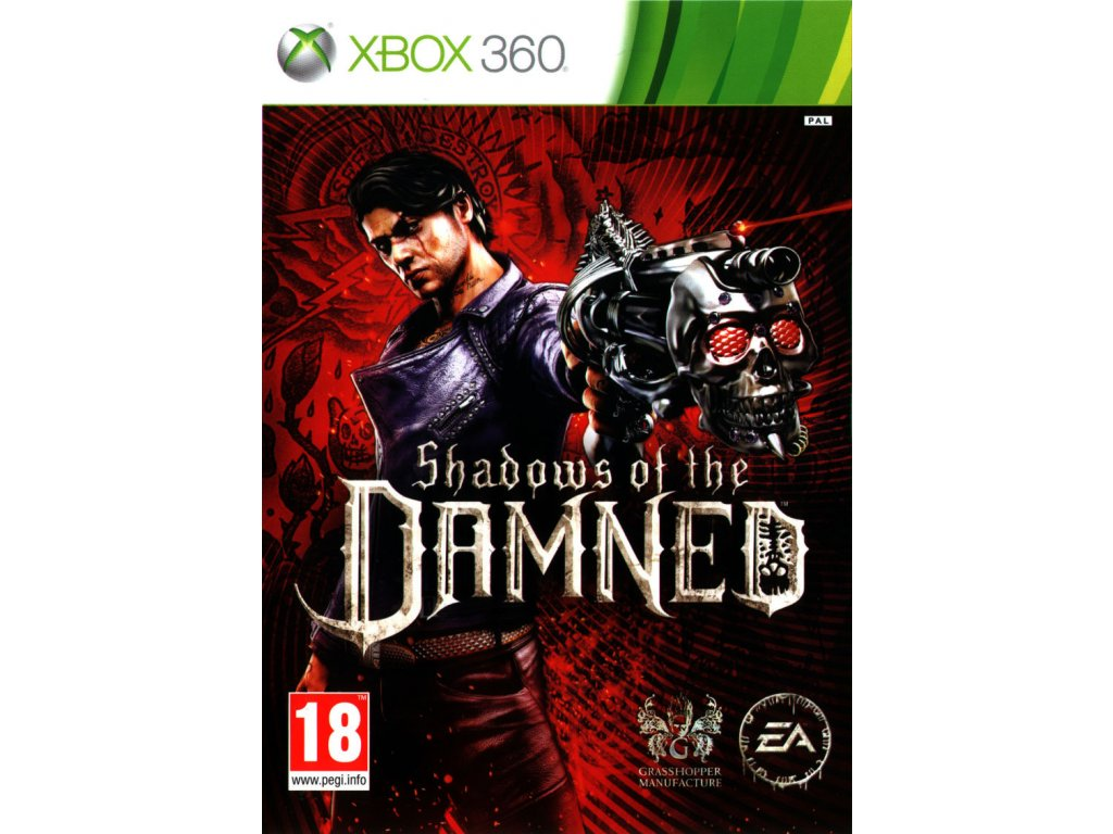 254571 shadows of the damned xbox 360 front cover