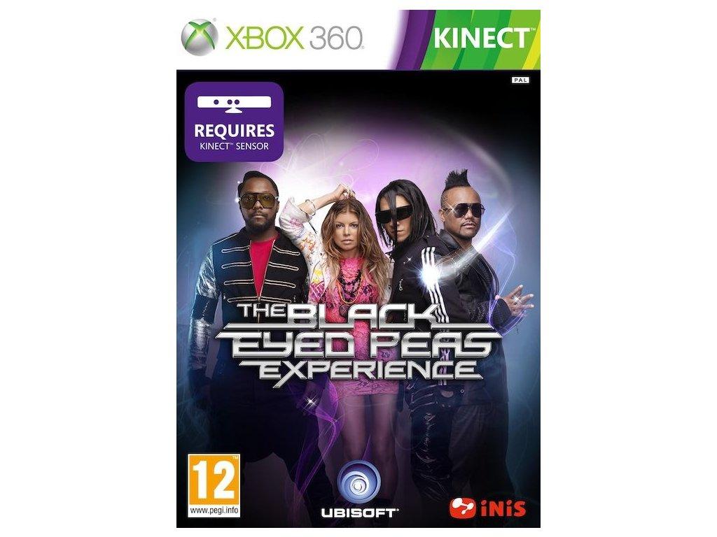 the black eyed peas experience xbox360 boxart