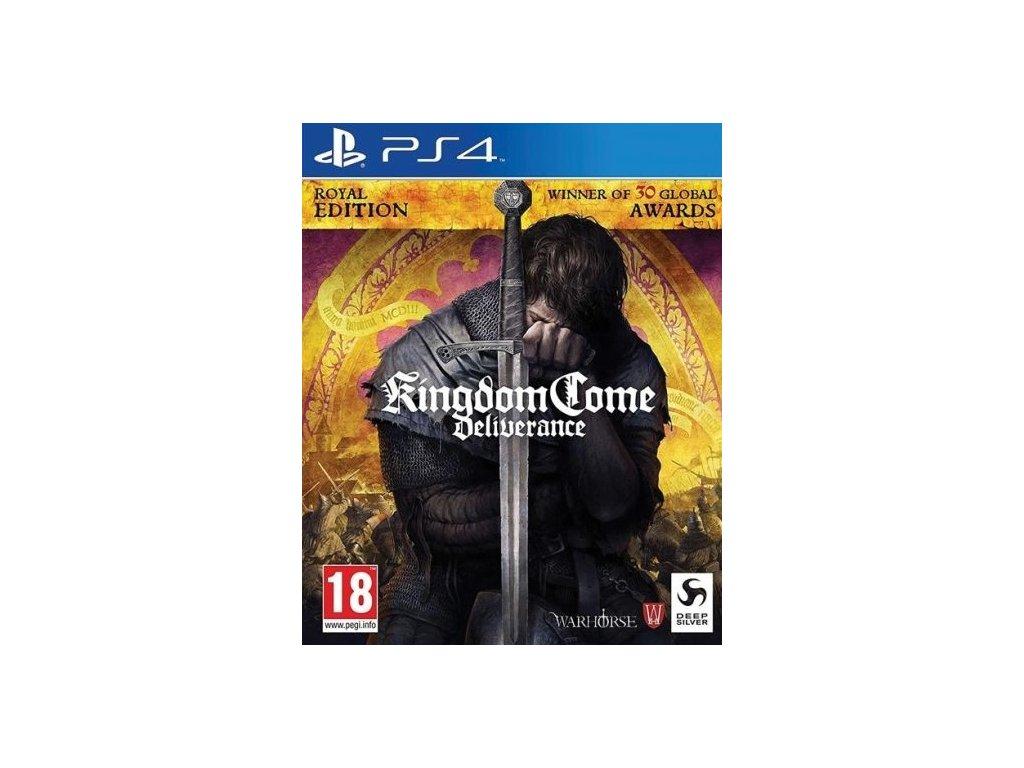 PS4 Kingdom Come Deliverance Royal Edition CZ