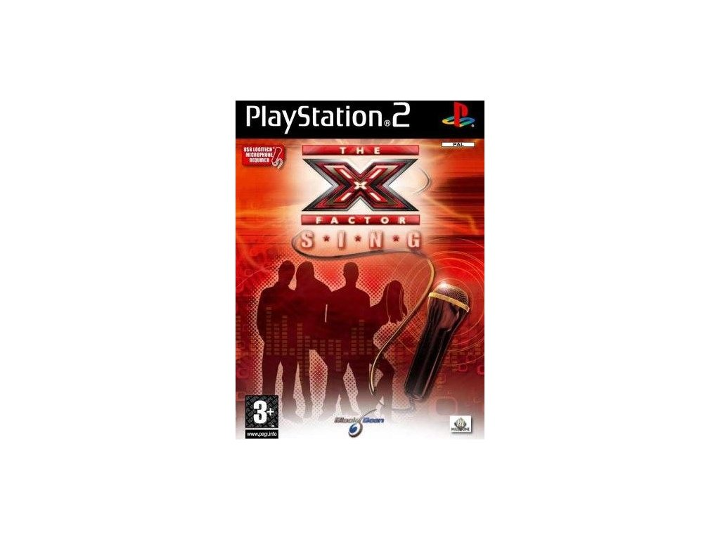 PS2 The X Factor Sing