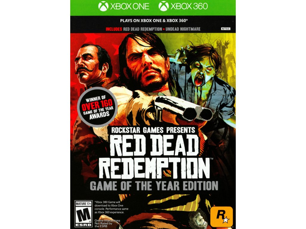 XONE/X360 Red Dead Redemption Game of The Year Edition Nové