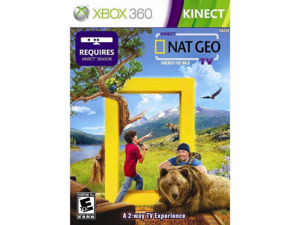 Kinect NatGeo America The Wild US ESRB X360