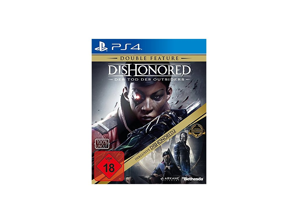 PS4 Dishonored Death of the Outsider + Dishonored 2