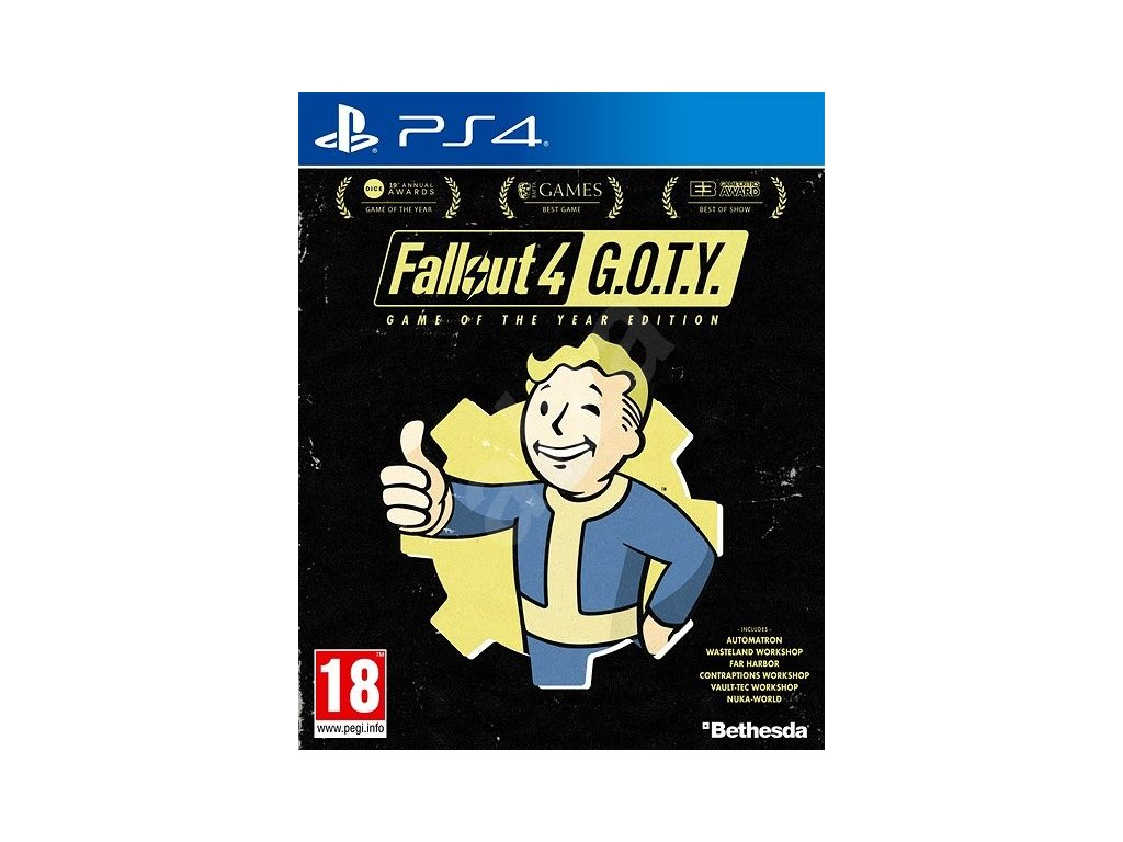 PS4 Fallout 4 Game of the Year Edition