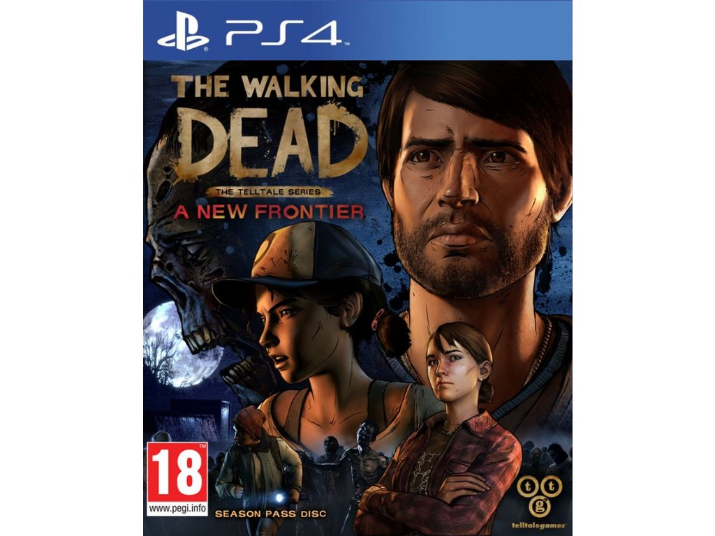 PS4 The Walking Dead A New Frontier