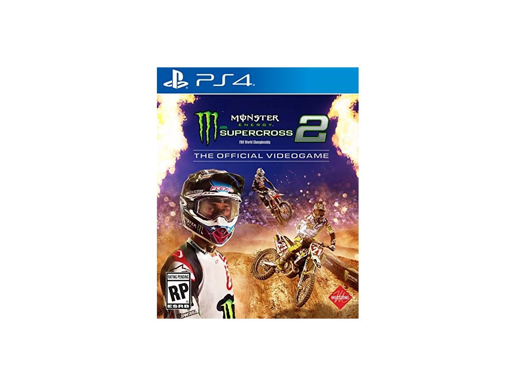 PS4 Monster Energy Supercross 2 The Official Video Game