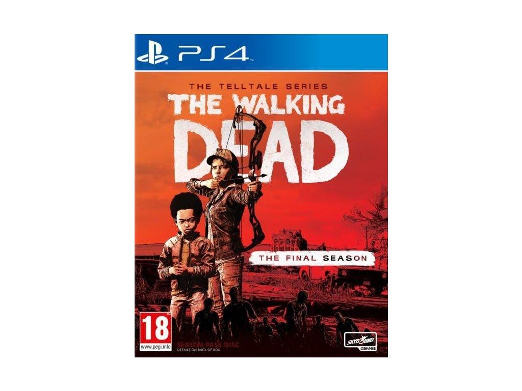 PS4 The Walking Dead Telltale Series The Final Season