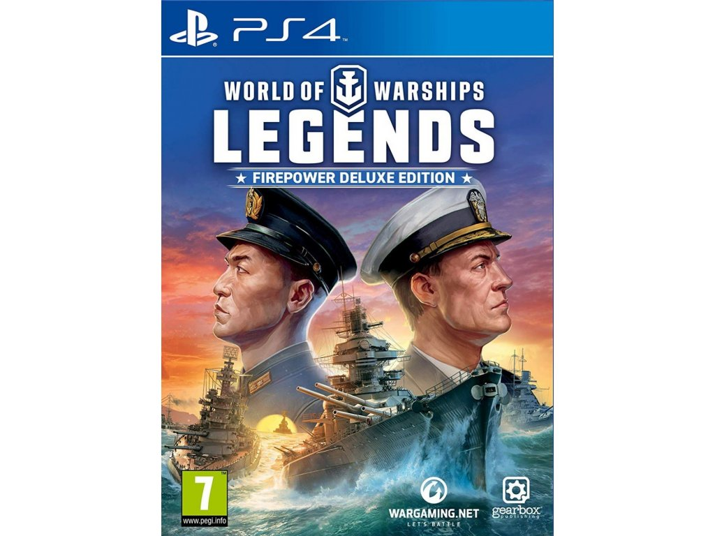 World Of Warships Legends Firepower Deluxe Edition