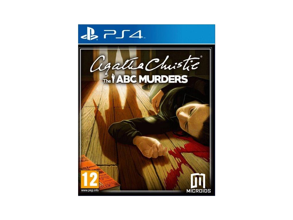 PS4 Agatha Christie The ABC Murders
