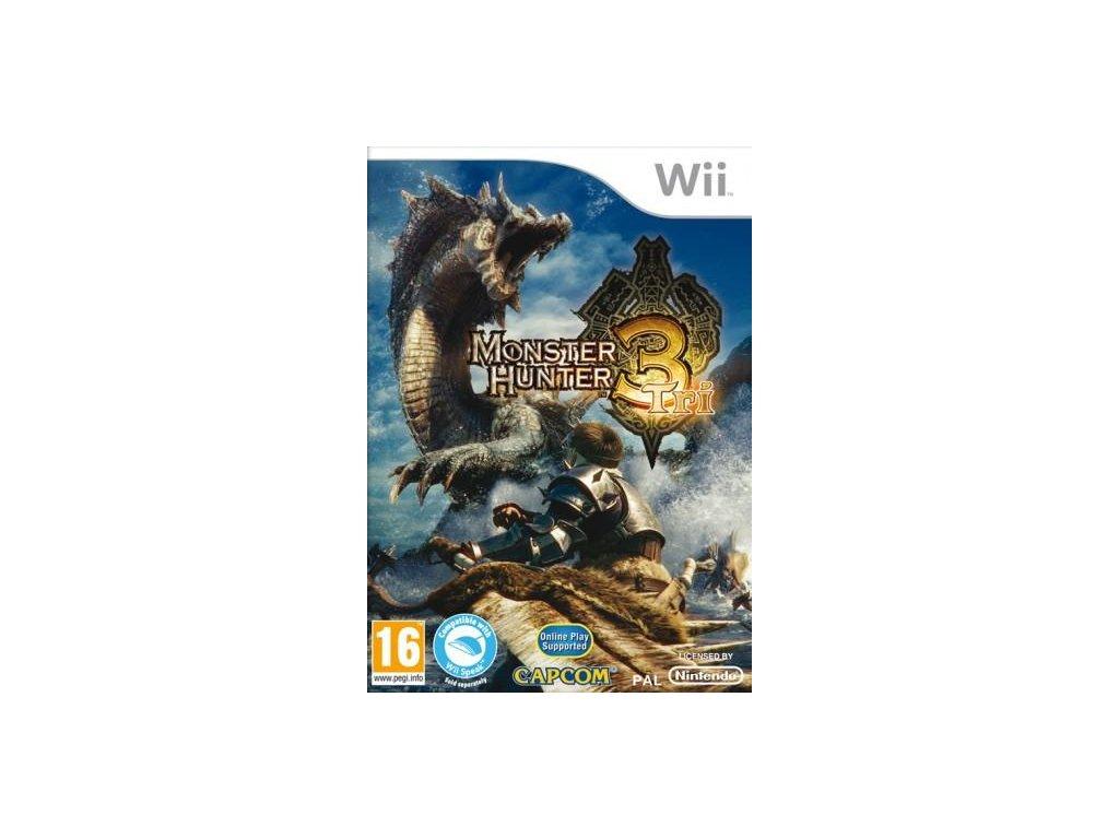 Wii Monster Hunter Tri