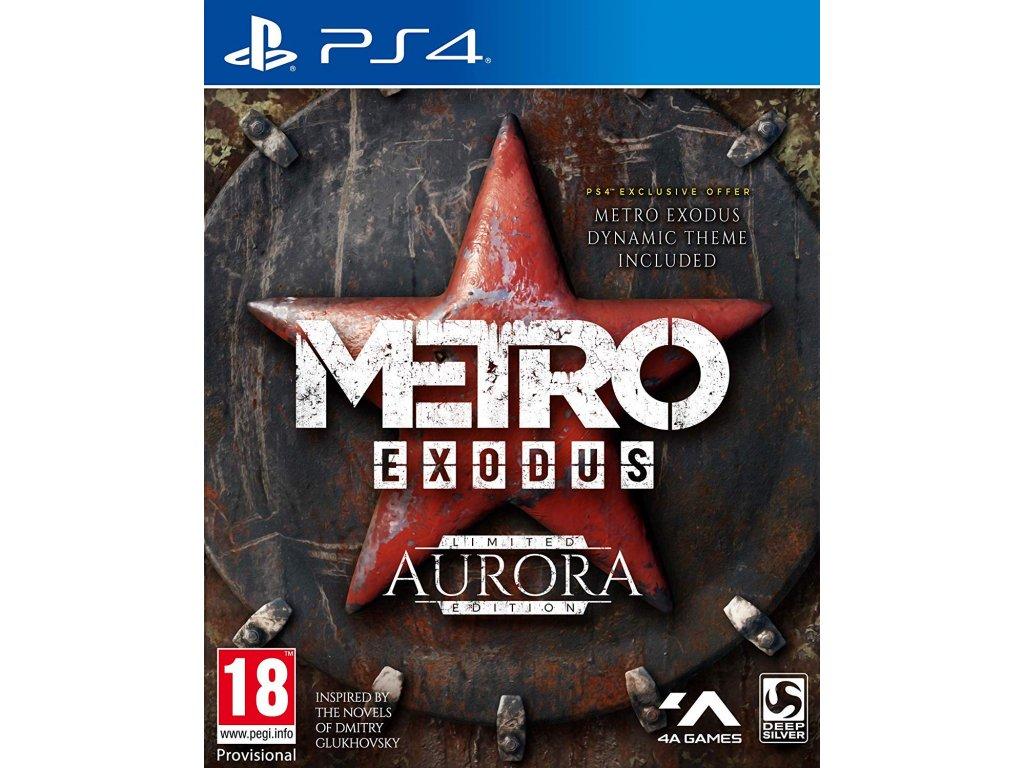 PS4 Metro Exodus Aurora Limited Edition Steelbook