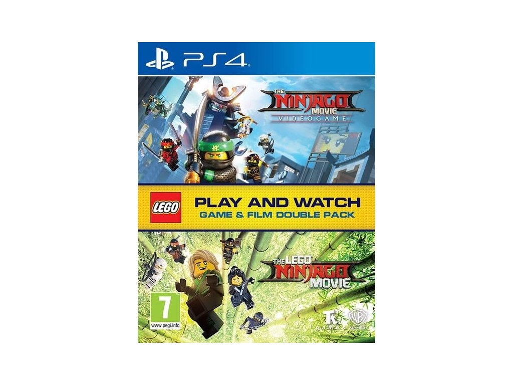 PS4 LEGO The Ninjago Movie Videogame Double Pack