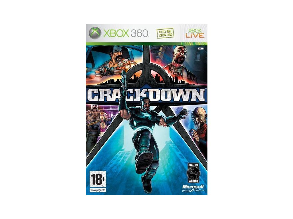 X360 Crackdown CZ