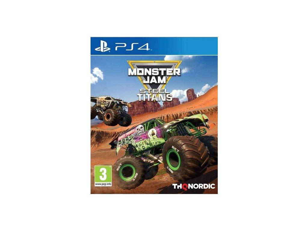 PS4 Monster Jam Steel Titans