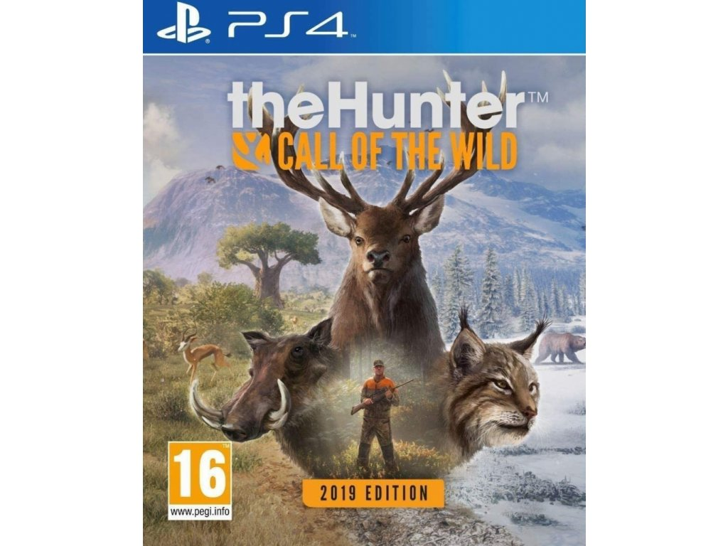 PS4 The Hunter Call of the Wild 2019 Edition