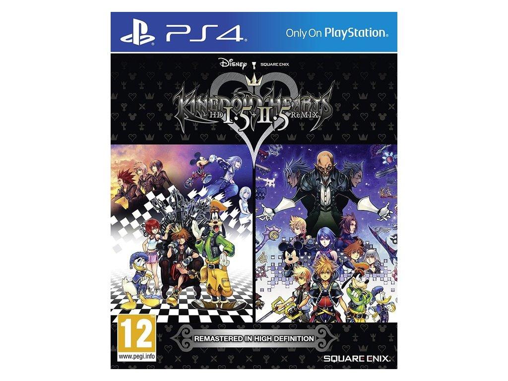 PS4 Kingdom Hearts HD 1.5 and 2.5 Remix