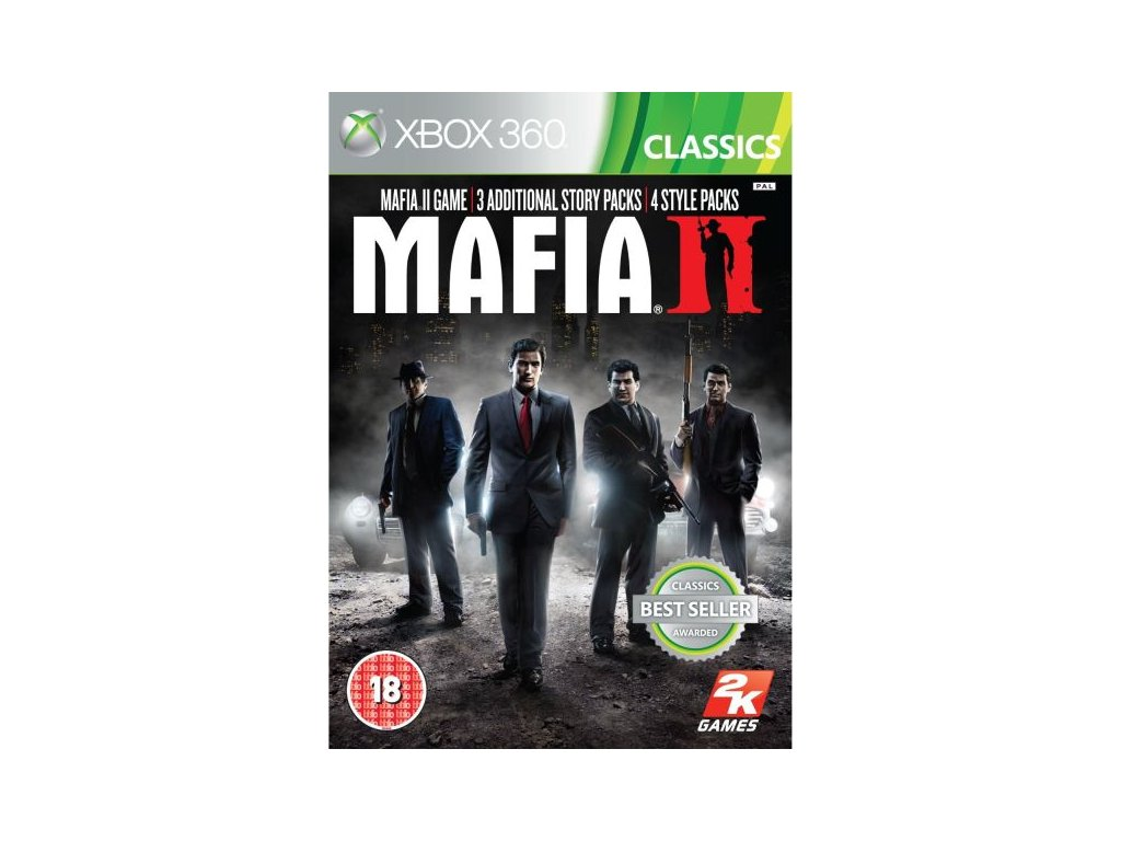 X360 Mafia 2 Special Extended Edition CZ