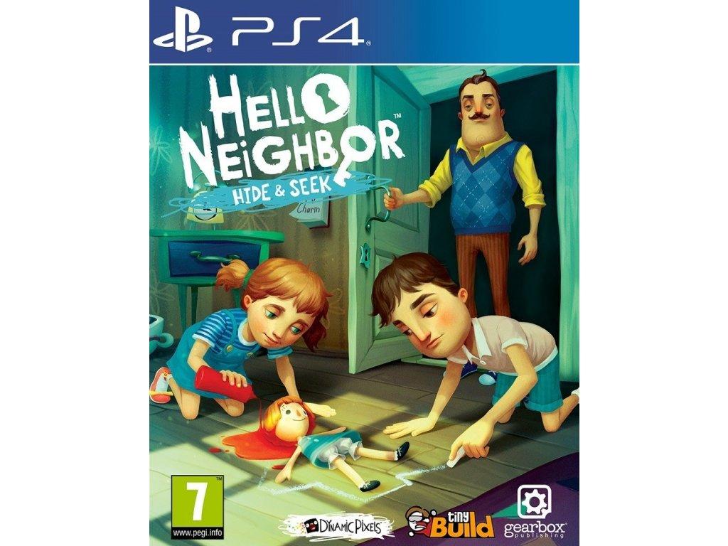 PS4 Hello Neighbor Hide and Seek
