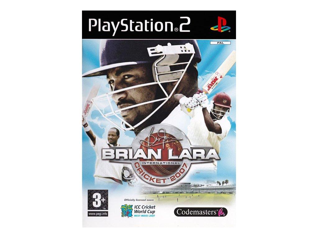 brian lara international cricket 2007 ps2 1