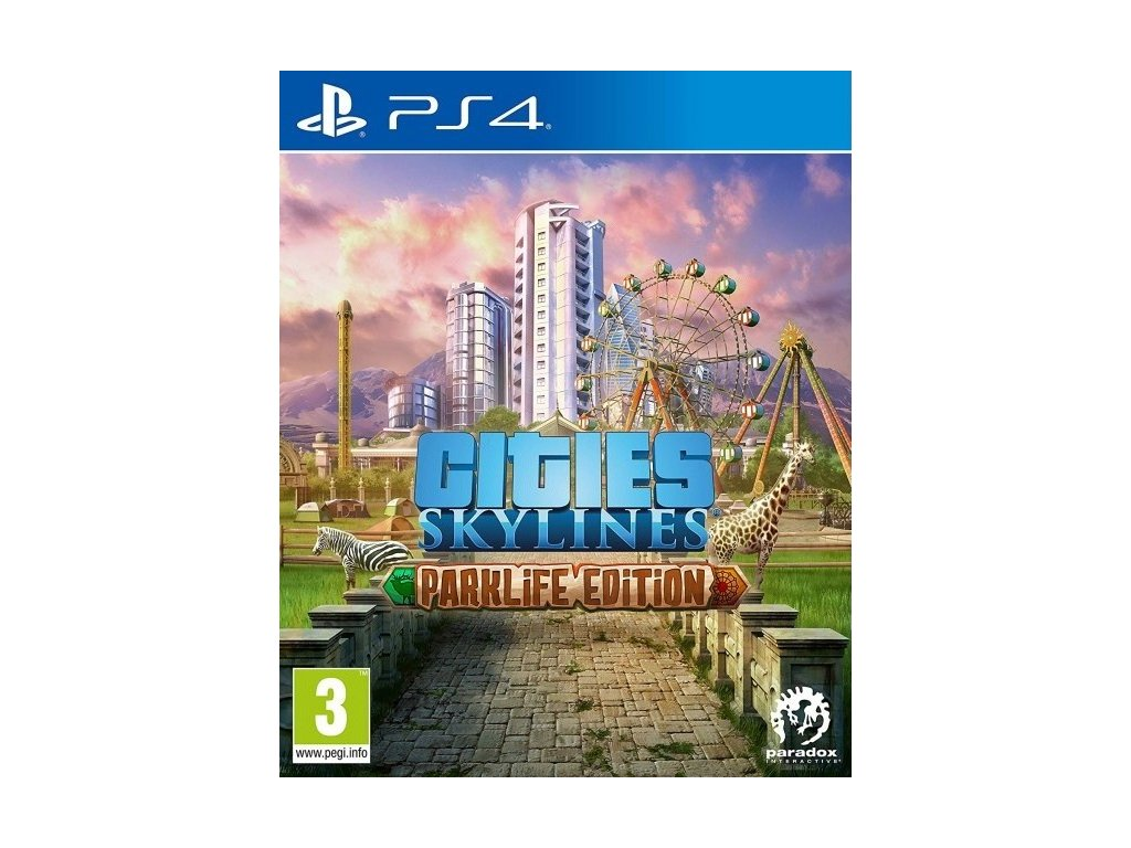 PS4 Cities Skylines Parklife Edition