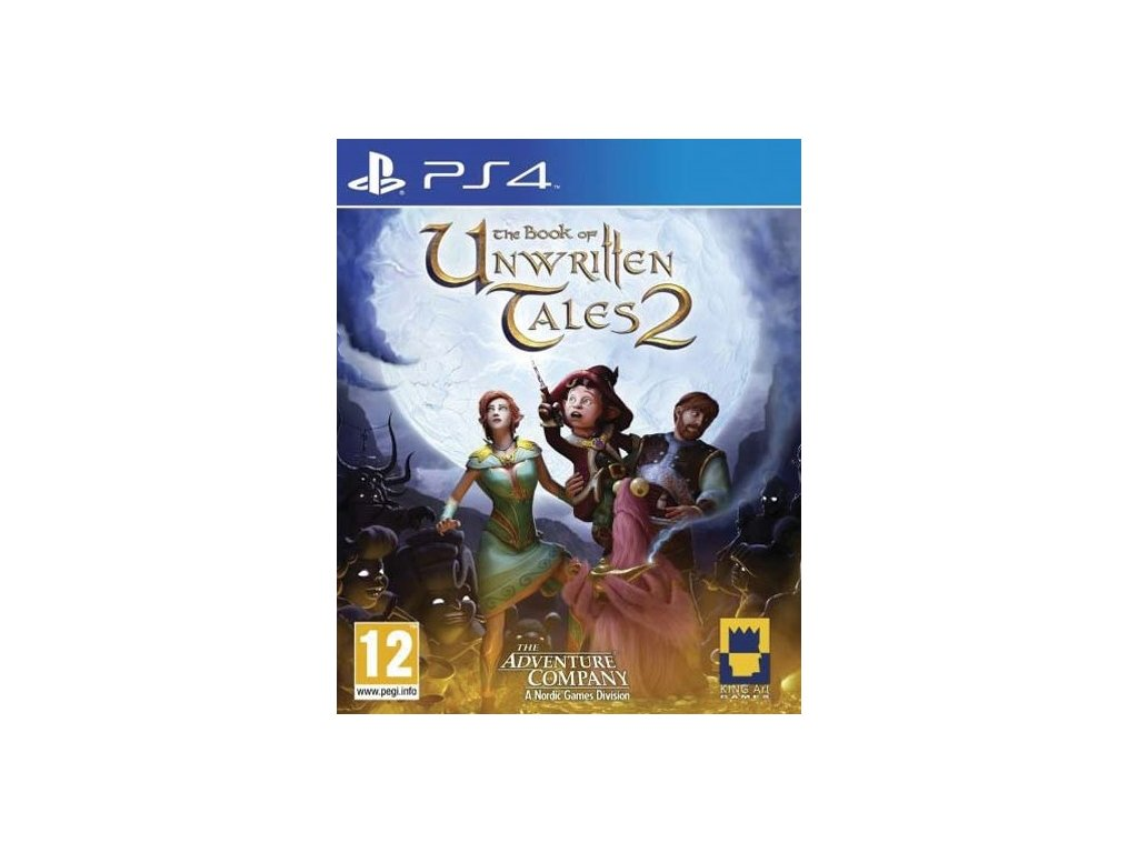 PS4 The Book of Unwritten Tales 2 Nové
