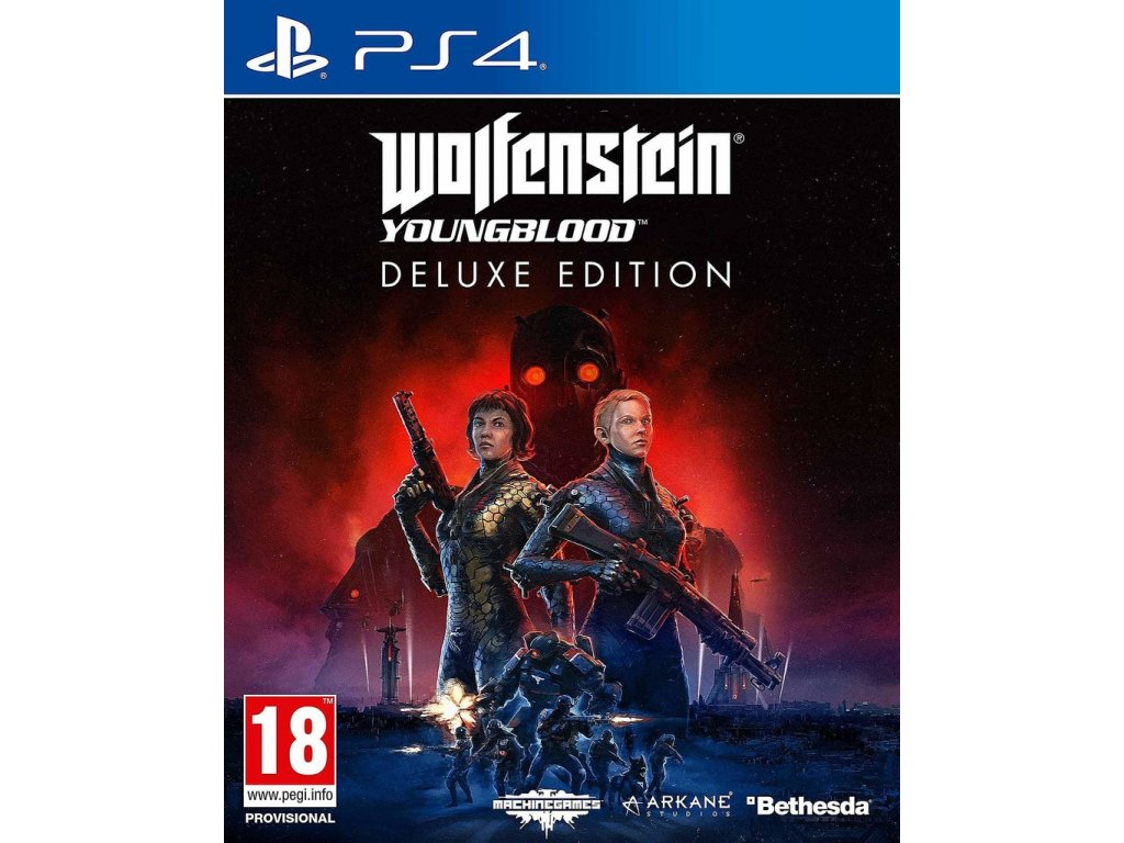 PS4 Wolfenstein Youngblood Deluxe Edition