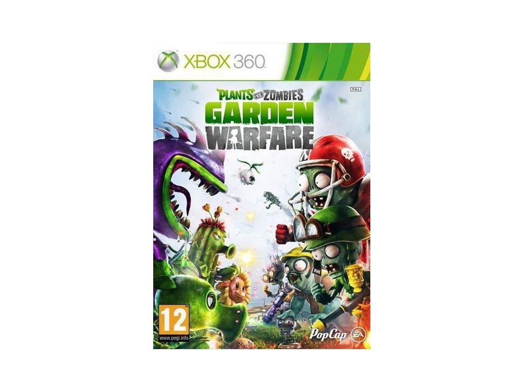 X360 Plants Vs Zombies Garden Warfare