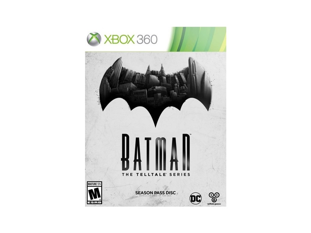 X360 Batman The Telltale Series