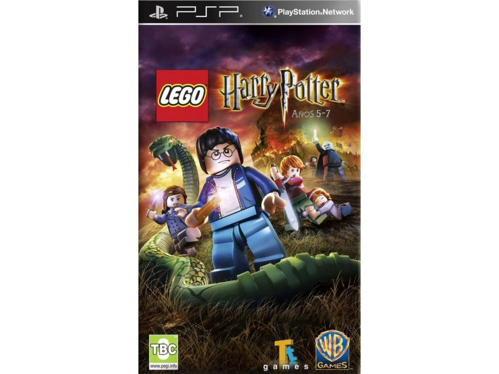 PSP Lego Harry Potter Years 5-7