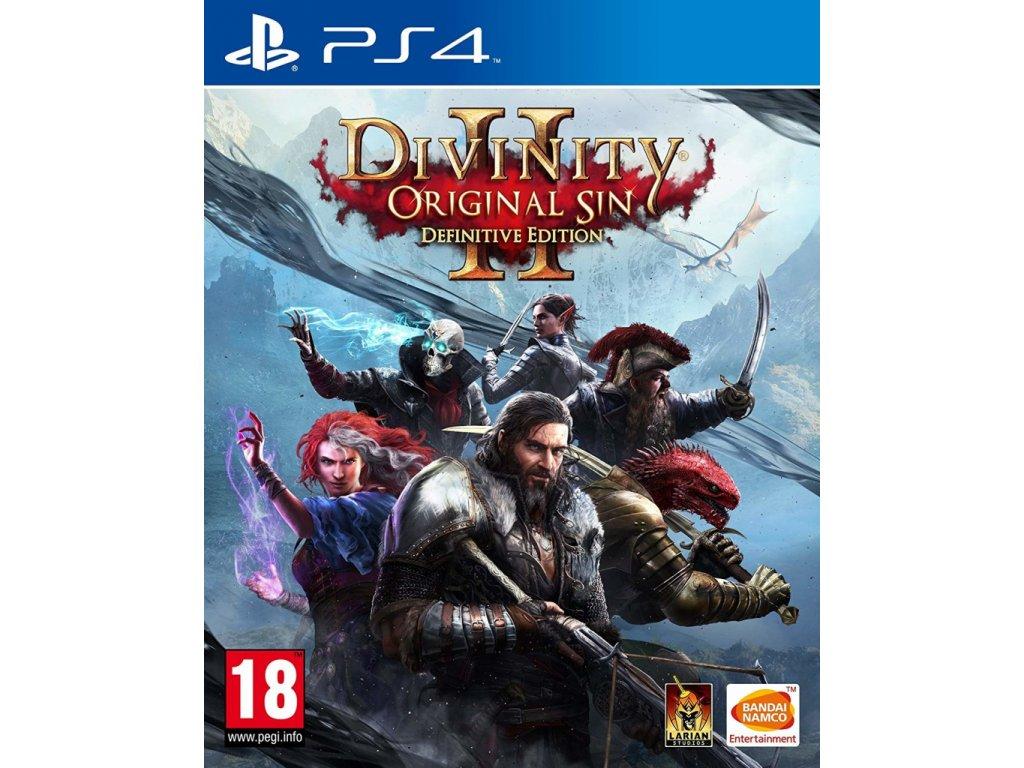 PS4 Divinity Original Sin 2 Definitive Edition