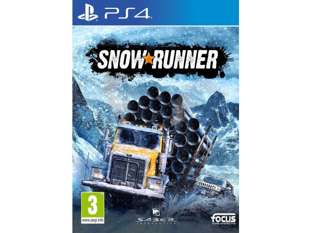 PS4 SnowRunner CZ