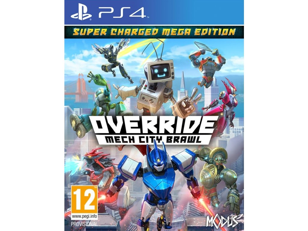 PS4 Override Mech City Brawl Super Charged Mega Edition