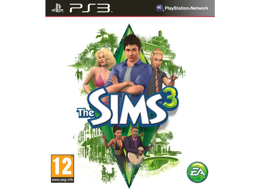 The Sims 3 for PlayStation 3 Cover Art