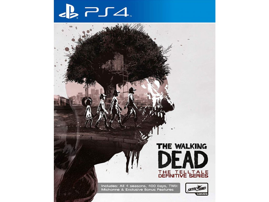 PS4 The Walking Dead The Telltale Definitive Series
