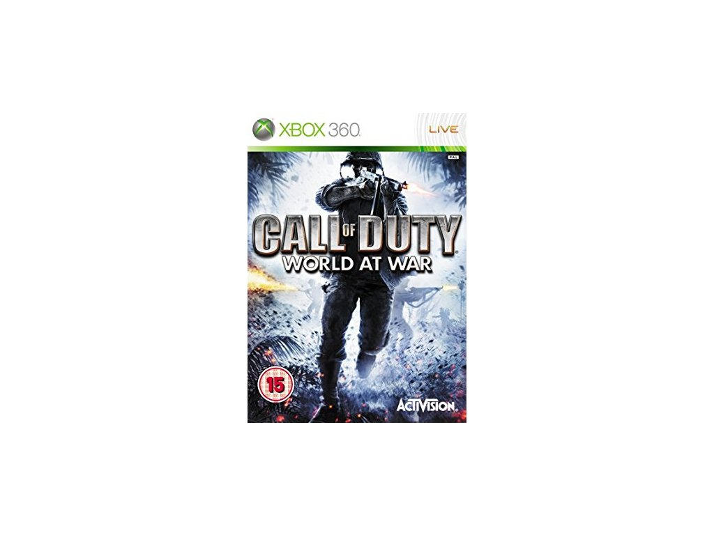 X360 Call of Duty World At War