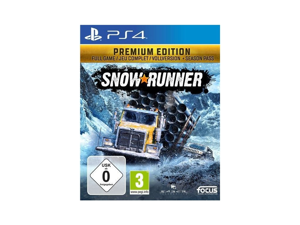 PS4 SnowRunner Premium Edition CZ