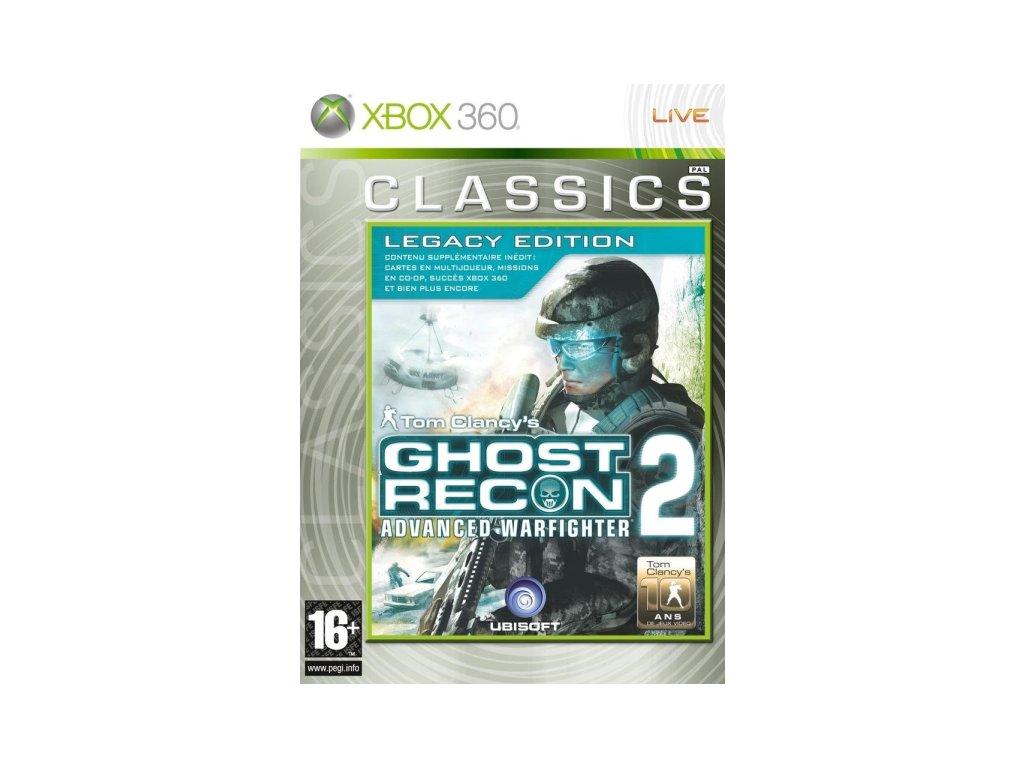 xbox 360 tom clancys ghost recon 2 advanced warfighter legacy edition nova