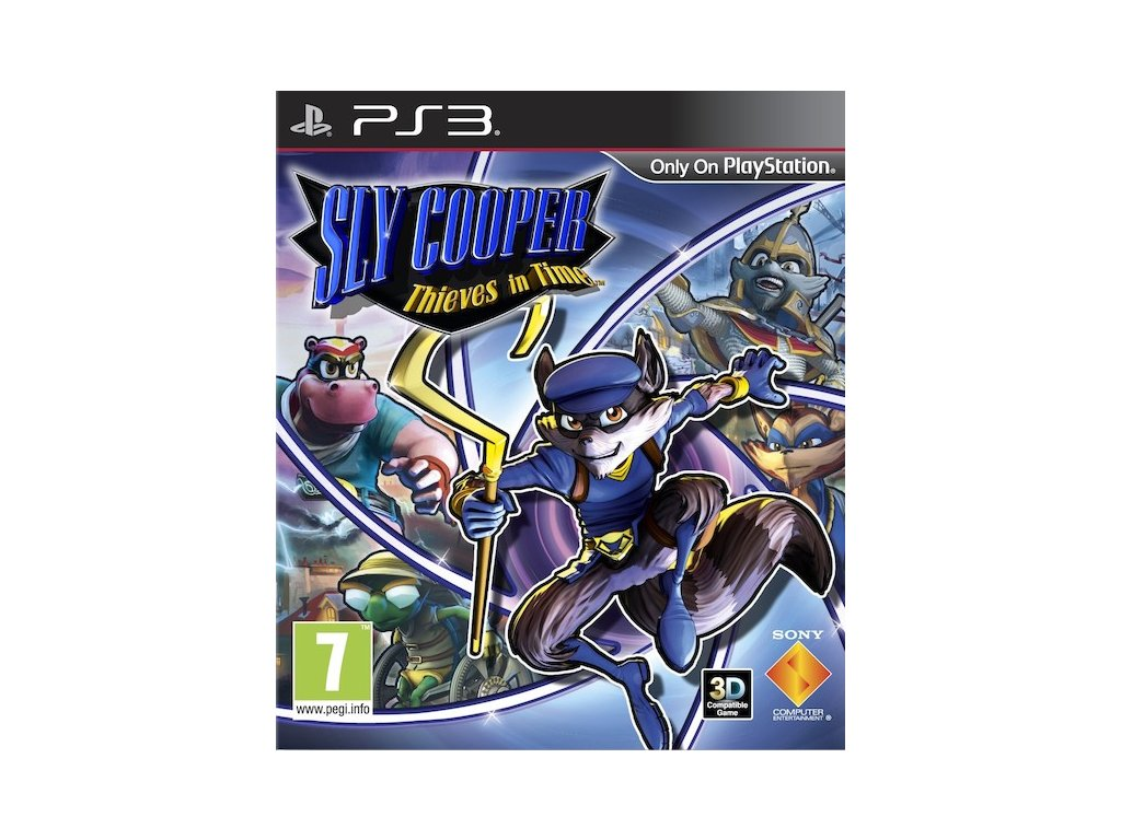 PS3 Sly Cooper Thieves in Time