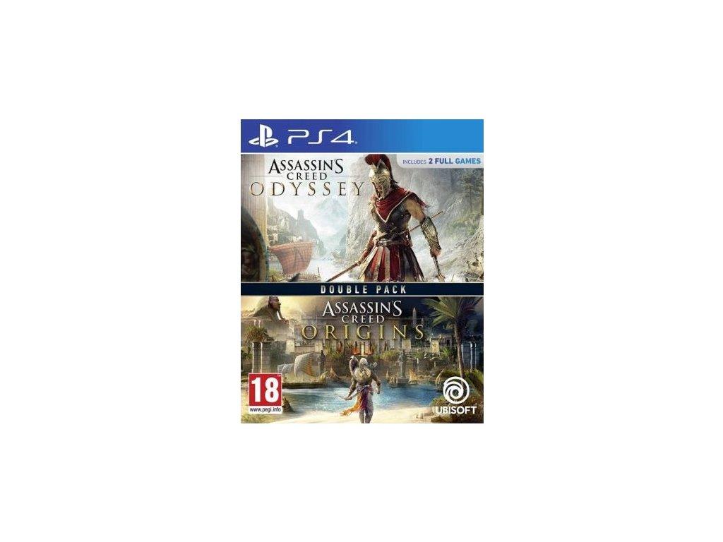 PS4 Assassins Creed Odyssey CZ + Assassins Creed Origins CZ