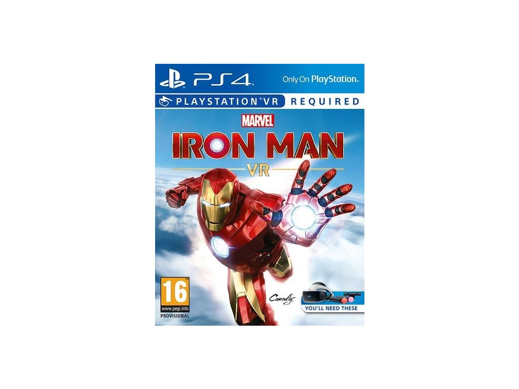 PS4 Marvels Iron Man VR