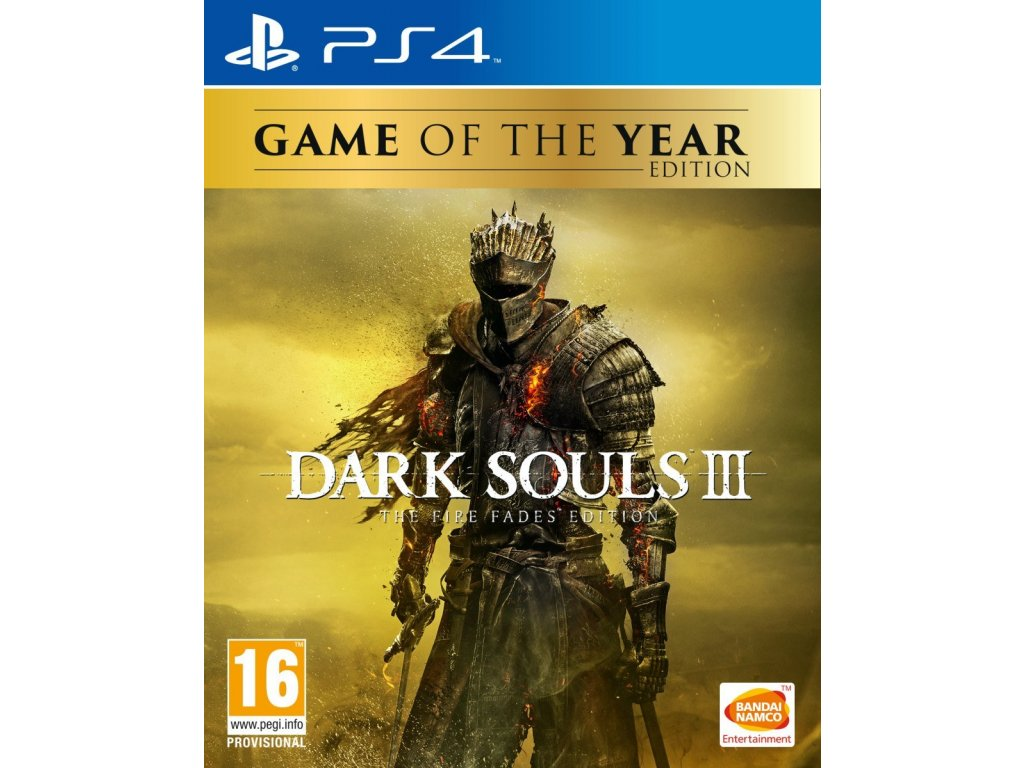 PS4 Dark Souls 3 The Fire Fades Edition Game of The Year Edition