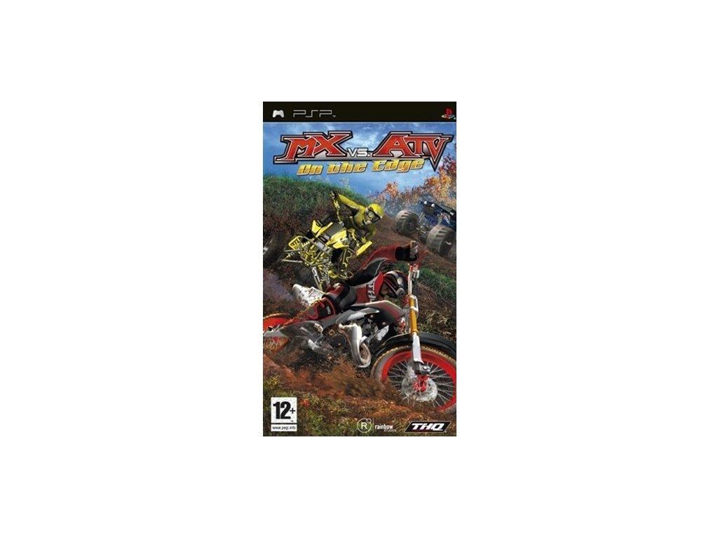 PSP MX vs ATV On the Edge
