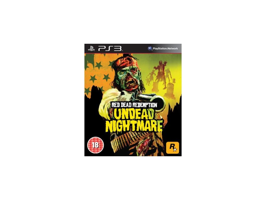 PS3 Red Dead Redemption Undead Nightmare