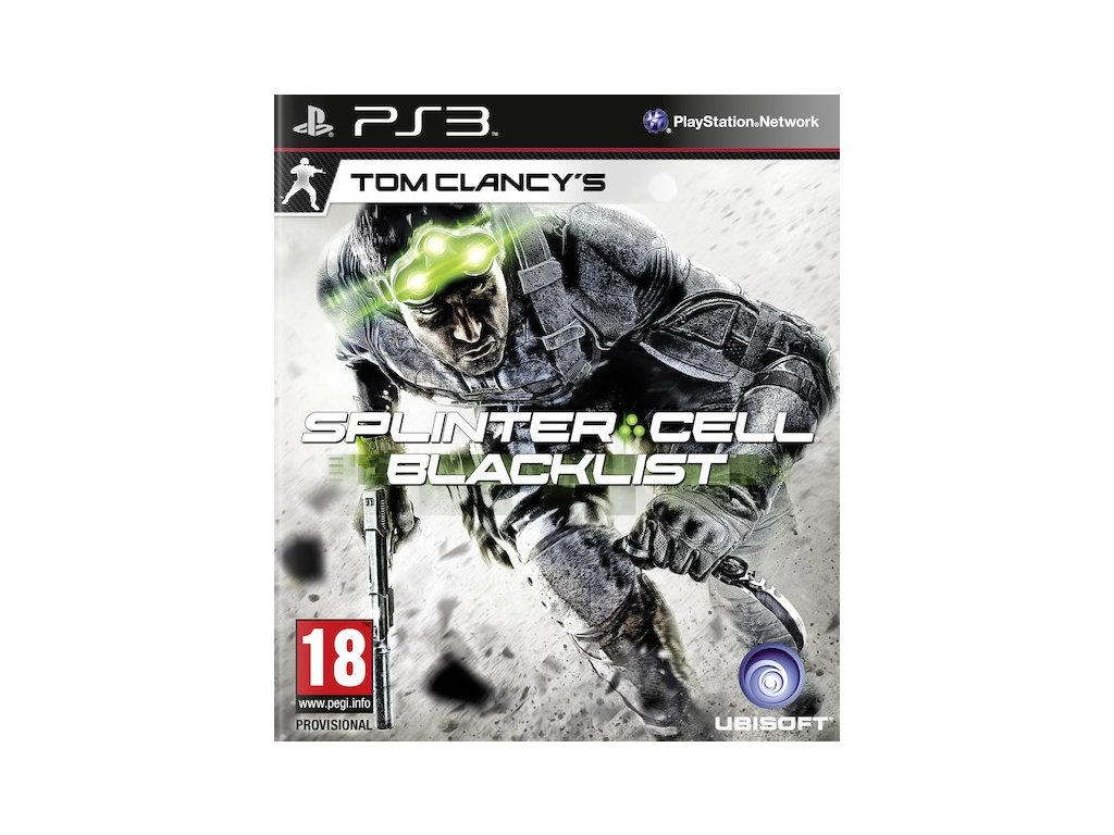 PS3 Tom Clancys Splinter Cell Blacklist CZ