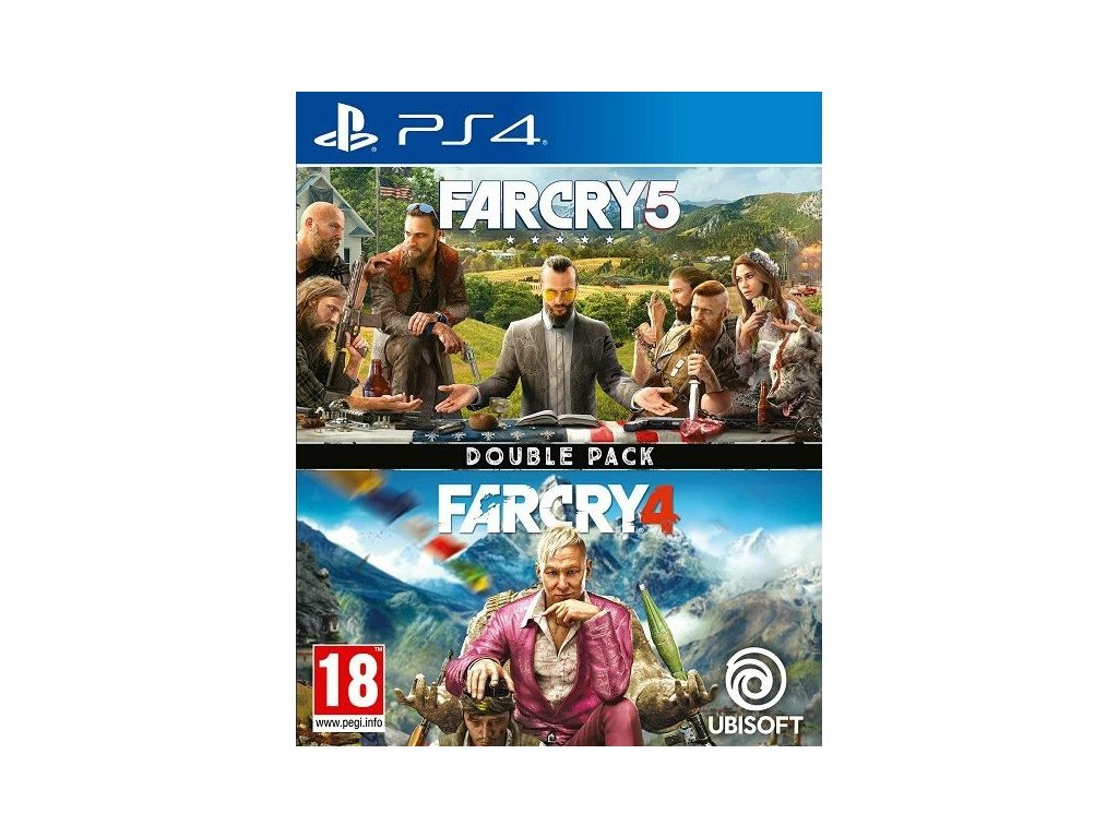 PS4 Far Cry 5 CZ + Far Cry 4 CZ