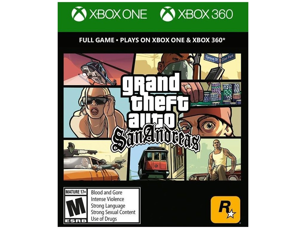 XONE/X360 Grand Theft San Andreas