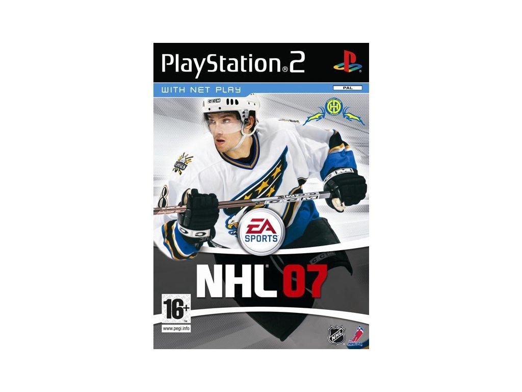 PS2 NHL 07 CZ