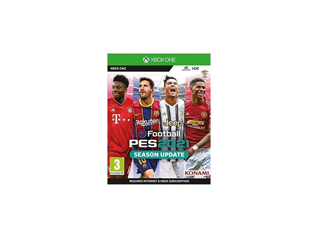 XONE Pro Evolution Soccer 2021 Season Update