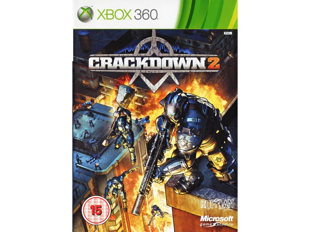 X360 Crackdown 2 CZ